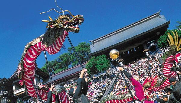 長崎くんち2019日程、見所、龍踊り、コッコデショ、駐車場、観光名所