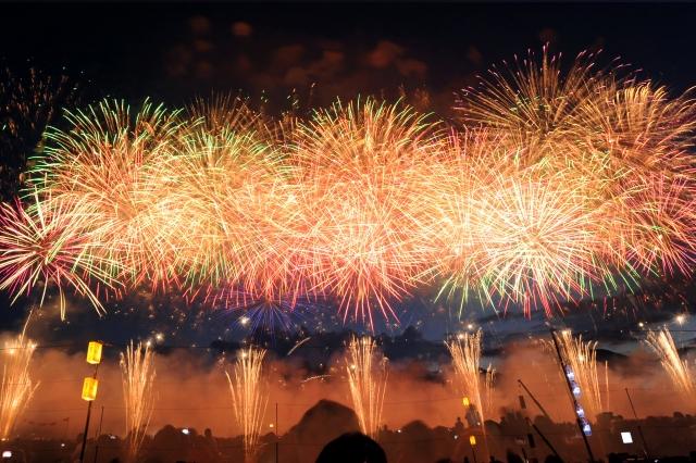 長野えびす講煙火大会2019で穴場な観覧場所、見えるスポットや打上げ場所情報