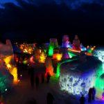 千歳・支笏湖氷濤まつりの開催期間や場所、会場へアクセス、観光名所
