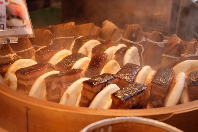長崎ランタンフェスティバルで食べ歩き!おススメ食事、長崎B級グルメ