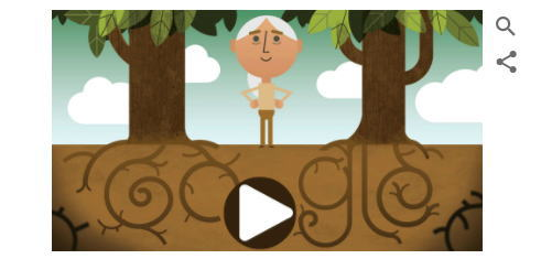 アースデーとは何?4月22日地球環境について考える日にGoogleロゴ変更