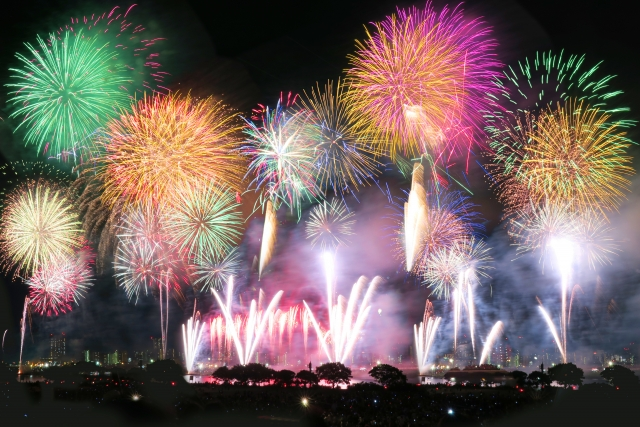 ハウステンボスの花火大会の混雑状況は?渋滞、穴場の場所取り、駐車場