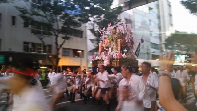 博多祇園山笠2019の追い山笠日程、見所、追い山ルート、掛け声、穴場