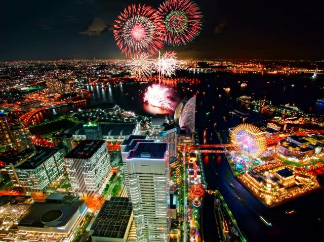 横浜スパークリングトワイライト2019の花火打上げ場所におススメ穴場スポット