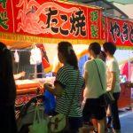 大阪天神祭の屋台出店露店の食べ物、グルメは?出店場所や開店、閉店時間