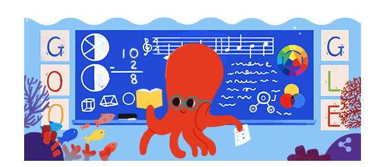 教師の日とは?10月5日の祝日を記念してGoogleロゴ変更